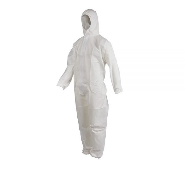 Disposable protective coverall 50 GSM