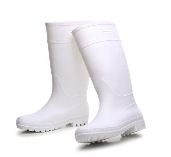 Gum boots white & fat resistant