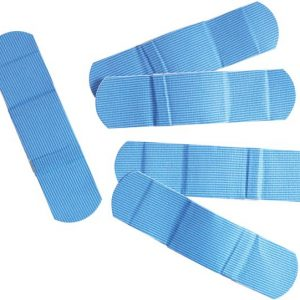 Plaster strips Blue X-Ray Detectable