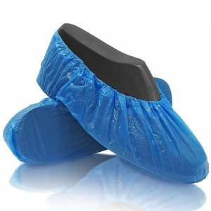 Shoe covers polyethylene